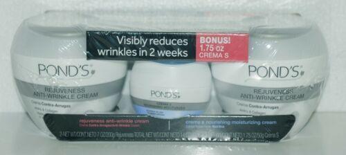 Ponds 83284675 Rejuveness Anti Wrinkle Cream Crema S Moisturizer Set of 3