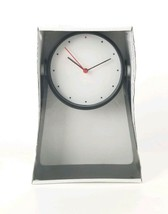 """IKEA GNISSLA Table Clock 5"""" Black 10"""" Tall Stand Battery Operated New - $29.91"""