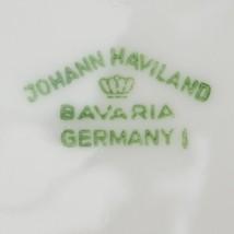 Johann Haviland China Blue Garland Pattern Flat Cup Saucer Vintage Flora... - $4.49