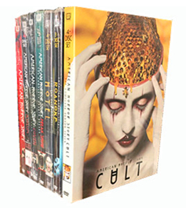 American Horror Story Complete Seasons 1-7 DVD Box Set 27 Disc Free Shipping