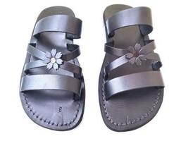 Leather Sandals for Women IRIS by SANDALIM Biblical Greek Roman Sandals - $39.44 CAD+