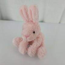 Russ Stuffed Plush Beanbag Bunny Rabbit Pink Easter Mini Tiny Small - $49.49
