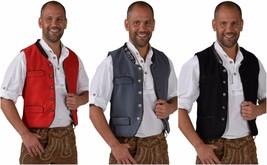 Oktoberfest Waistcoat - Deluxe Wool - like , XS-XXL Bavarian - $47.34