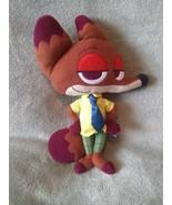 "Disney Zootopia NICK WILDE FOX stuffed animal plush PILLOW PAL 14"" - $6.79"