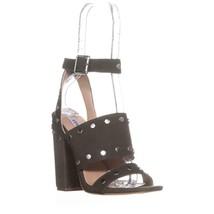 Steve Madden Jansen Ankle-Strap Dress Sandals, Olive, 5.5 US - $32.63