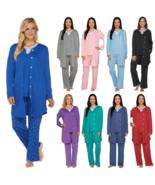 Carole Hochman Women' Pajama Sets PM Interlock 3-Piece ,Violet , X Small - $29.69