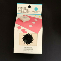 Martha Stewart Rose Window All Over The Page Paper Punch Scrapbooking Tool   - $13.86