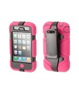Griffin Pink/Black Survivor All-Terrain Case for iPhone 3G/3GS - Extreme... - $24.54