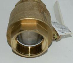 WATTS 3'' LFFBV-3C Brass Ball Valve Full Port Thread 400 WOG ANSI Z21.15/CSA 9.1 image 4