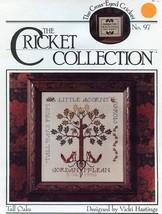 Cricket No. 97 Tall Oaks Sampler Cross Stitch Pattern Leaflet 2 Designs - $3.57
