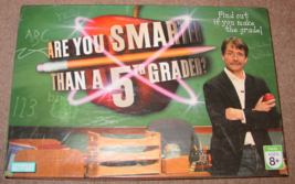 Are You Smarter Than A 5TH Grader? Game 2007 Parker Brothers Complete - $8.00