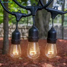 Outdoor Indoor Edison Style String Lights – Commercial Grade Heavy Duty ... - $56.53