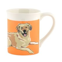 Department 56 Go Dog Golden Retriever Mug, 4.5 inch