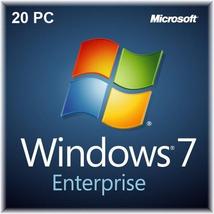 Windows 7 Enterprise 32bit/64bit for 20 PC Devices - $38.45
