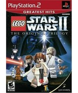 Lego Star Wars 2 the Original Trilogy PLAYSTATION 2 (PS2) Action / Adven... - $9.22