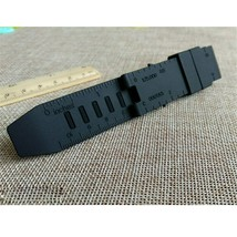 Strap Watch Band Rubber Black Waterproof For LUMINOX RECON/COLORMARK 23MM - $14.32