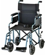NOVA Lightweight Transport Chair with Removable & Flip Up Arms for Easy ... - $222.75