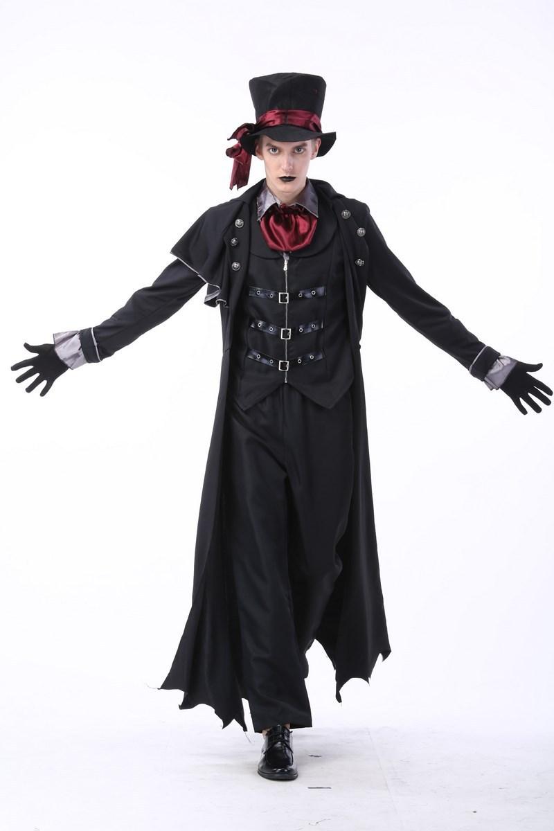 Halloween Couple Vampire Demon Devil Cosplay Costume