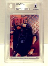 1997-1998 Topps Finest Tim Duncan Rookie Beckett 9 Mint #101 - $19.99