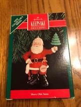 Hallmark Ornament Collector 's Series Keepsake Ornament Merry Olde Santa - $21.32