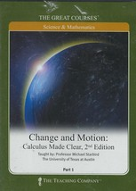 Change and Motion : Calculus Made Clear, 2nd Edition Part 1 DVD - $10.95