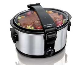 Hamilton Beach 7 Quart Stay Or Go Slow Cooker - $58.44