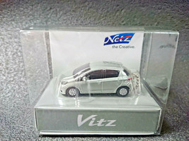 TOYOTA Vitz Yaris Silver Metallic LED Light Keychain Japan Limited - $21.21