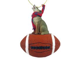 Coyote Football Ornament - $17.99