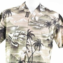 Royal Creations Palms Diamond Head Sunset Outrigger Beach Medium Hawaiia... - $32.66