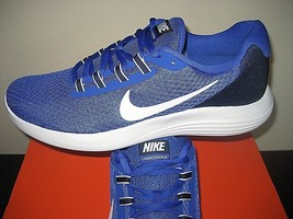 Nike Mens Lunarconverge Running Shoes Paramount Blue White Size 11.5 852... - £45.31 GBP
