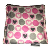 Hearts Pack Hot Cold You Pick A Scent Microwave Heating Pad Reusable - $9.99