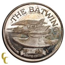 Batman Edición Limitada 1oz de Plata Redondo 50th Aniversario Del Murcié... - $99.10