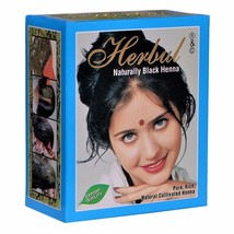 HERBUL Henna Hair Color - Naturally Black Henna - Pure and Natural Product 60g - $5.99