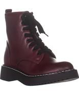 madden girl Kurrt Lace Up Combat Boots, Burgundy Paris - $47.99+