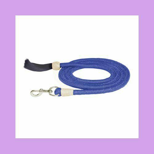 Lavender Nylon Braided Lead with Horsehair Tassel NEW!