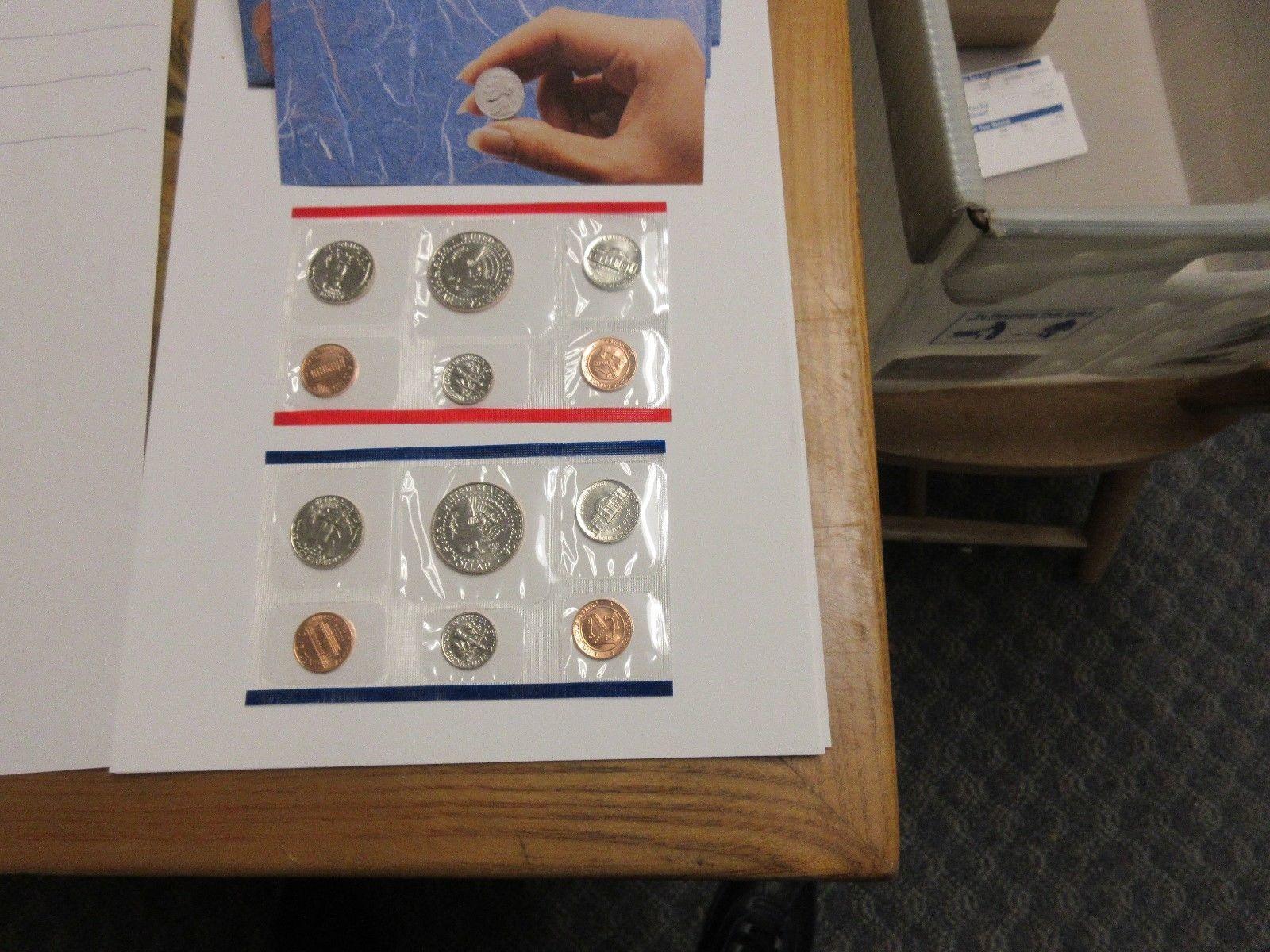 1991 , United States Mint , Uncirculated Mint Set , Lot of 5 Sets image 5