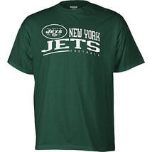 REEBOK NEW YORK JETS ARCHED HORIZON T SHIRT M MED MEDIUM MD NFL NWT GREE... - $18.69