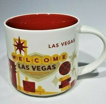 Starbucks You Are Here Las Vegas Oversized Coffee Mug 14 oz 2005 - $15.95