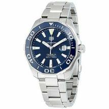 Aquaracer 300M Automatic Blue Dial Ceramic Bezel 43mm Steel Men's Watch - $1,499.00