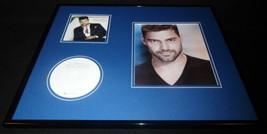 Ricky Martin Signed Framed 16x20 CD & Photo Display  - $140.24