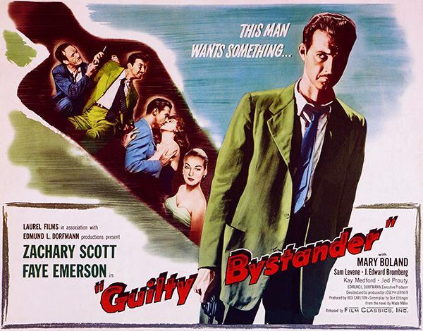 Primary image for Guilty Bystander - 1950 - Movie Poster
