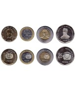 Dominican Republic 1-25 Pesos 4 Pieces(PCS) Coi... - €8,92 EUR