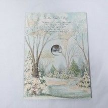 Hallmark Expandable Vintage Card To The One I Love To Wish You Merry Chr... - $12.99