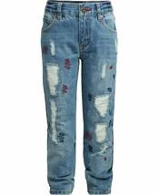 Tommy Hilfiger NWT Big Boys Rebel Jeans Skinny Fit Size 8 Distressed KD853 - $29.69