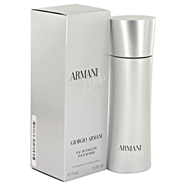 Armani Code Ice Cologne by Giorgio Armani 2.5 oz Eau De Toilette Spray