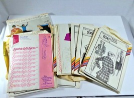Mixed Lot of MCM Vogue Ann Person Stretch & Sew Clothing Patterns Knit F... - $9.85