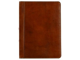 Amber Leather Portfolio / Documents Folder - $153.00