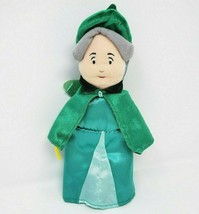 "10"" DISNEY SLEEPING BEAUTY FAIRY GODMOTHER FAUNA GREEN STUFFED ANIMAL PL... - $35.53"