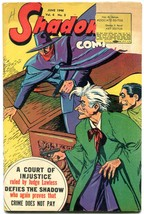 Shadow Vol 6 #3 1946- Doc Savage Nick Carter Golden Age G/VG - $107.19