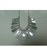 DESIGNER SHANA LEE .925 SILVER FLAIR NECKLACE HUDSON NEW YORK - $125.00